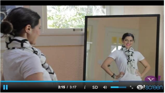 Cómo usar una bufanda | Different Ways to Wear a Scarf Episode #1 (5.22.2013)