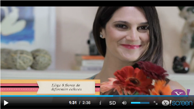3 formas de arreglar flores   3 Ways of Arranging Flowers Episode #5 (6.19.2013)