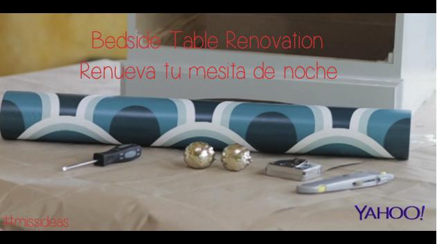 Bedside Table Renovation | Renueva tu mesita de noche Episode #22 (10.24.2013)